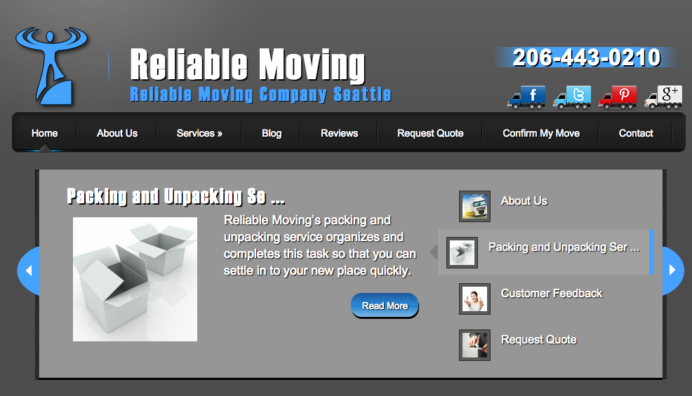 Reliable Moving Seattle